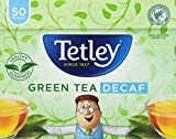 Tetley Decaffeinated Green Tea (Pack of 50)
