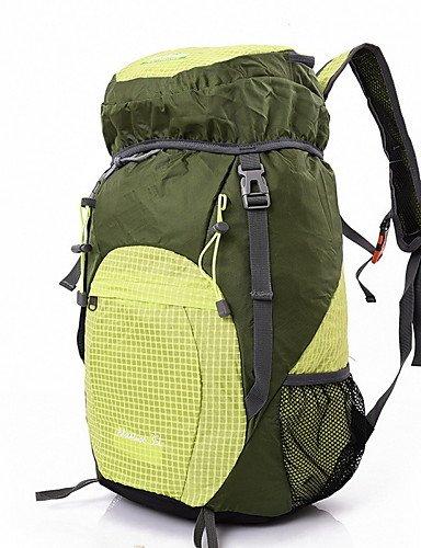 HWB/ 35L L Tourenrucksäcke/Rucksack Camping & Wandern / Klettern Draußen Multifunktions Gelb / Rot / Grau / Blau / Purpur Nylon No Yellow