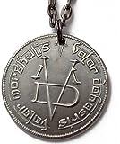 """Valar Morghulis 30 """"Collar Juego de Tronos Hombre anónimo de monedas HBO Arya Stark"""