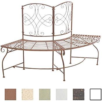 gartenbank halbrundbank baumbank bank aus. Black Bedroom Furniture Sets. Home Design Ideas