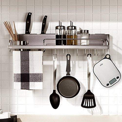 SIMBR Waage Küchenwaage mit Aufhänger und Tara-Funktion hohe Präzision von 2g bis 5kg inkl. Batterie - 5