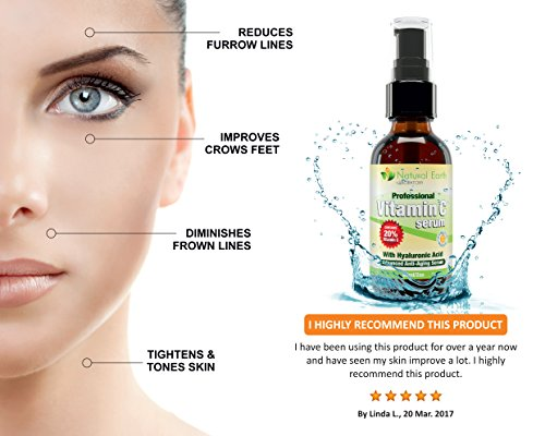 PREMIUM Vitamin C Serum, Anti-Aging Magic for Face. Hyaluronic Acid. 60 ML.