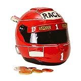 Rennfahrer Helm Spardose - Helm Sparbüchse Sparschwein Rennhelm