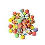 Best Juguetes y niño Bouncy Balls - STOBOK Juguete saltarín Colorido de Las Bolas de Review
