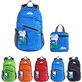 egogo multifuncional Durable Packable Práctico mochila de viaje ligero mochila bolso de escuela Mochila de senderismo s2212, azul