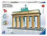 Ravensburger 12551 - Brandenburger Tor-Berlin 3D Puzzle Bauwerke, 324 Teile