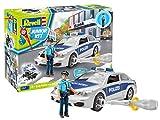 Revell Junior Kit- Jeu De Construction-Voiture De Police avec Figurine, 00820