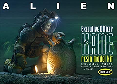 Polar Lights Maßstab 1: 9Executive Officer Kane Alien Spielzeug