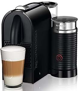 delonghi machine caf nespresso en 210 bae u milk 1700 w noir cuisine maison. Black Bedroom Furniture Sets. Home Design Ideas