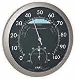 TFA Dostmann Thermo-Hygrometer, anthrazit/grau, 120 x 37 x 120 cm, 45.2043.51