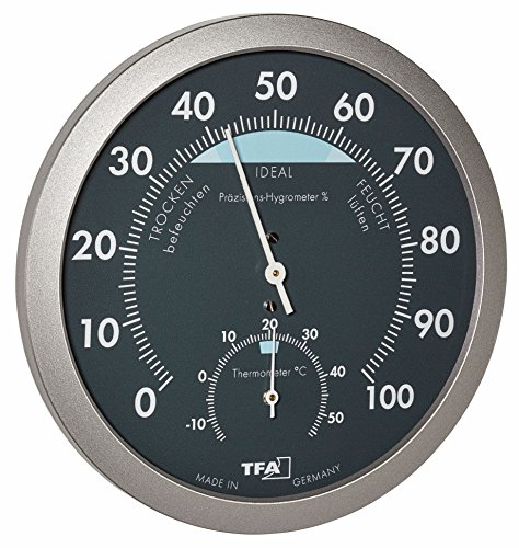 TFA Dostmann Analoges Thermo-Hygrometer,...