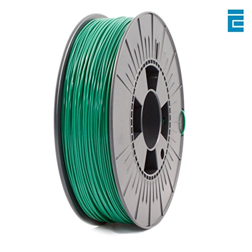 ICE Filaments ICEFIL1PLA108 PLA filament, 1.75mm, 0.75 kg, Daring Darkgreen