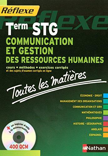 COMMUNICAT GESTION RH TERM STG