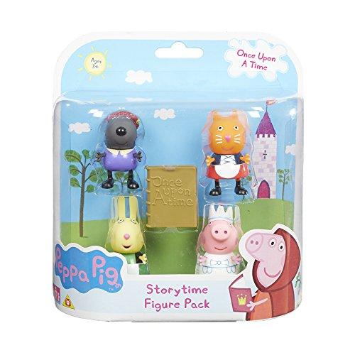 Peppa Pig Érase un paquete Tiempo de Cuentos Figura