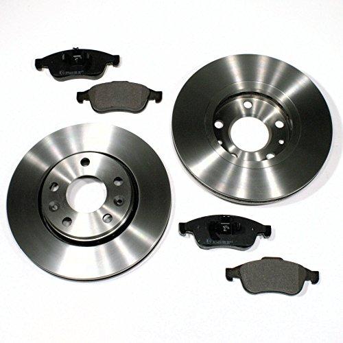 Bremsscheiben Ø 280 mm/Bremsen + Bremsbeläge für vorne/für die Vorderachse