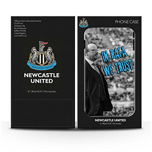 Offiziell Newcastle United FC Hülle / Matte Snap-On Case für Apple iPhone SE / Pack 8pcs Muster / NUFC Rafa Benítez Kollektion Wir Vertrauen
