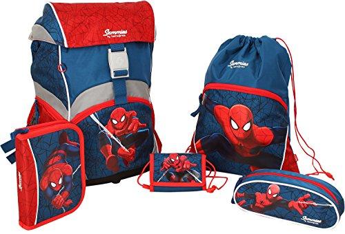 Sammies by Samsonite - Schulranzen Set 5 tlg. - Spider-Man Marvel