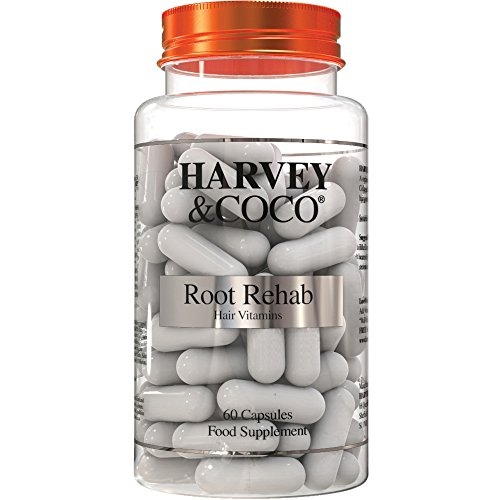 Root Rehab – Haarkur Vitamin-Kapseln hoch dosiert | Natürliches Haarwachstum mit Biotin, Zink, Pantothensäure + Vitamin-Komplex | Für Männer & Frauen