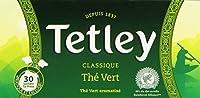 Tetley Boîte de 30 Sachets TIR PRESS sous PROTECT AROME Thé vert Classique - Lot de 4
