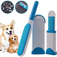 TIMESOON Double-Sided Pet Fur and Lint Remover Pet Hair Remover Pet Fur Remover Magic Clean Clothing, Furniture, Home…