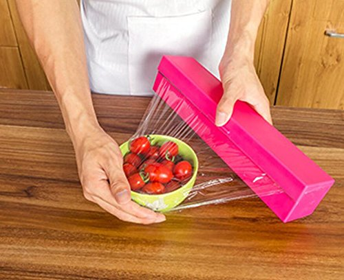 Frischhaltefolienschneider aus Kunststoff für Küche und Frischhaltefolie
