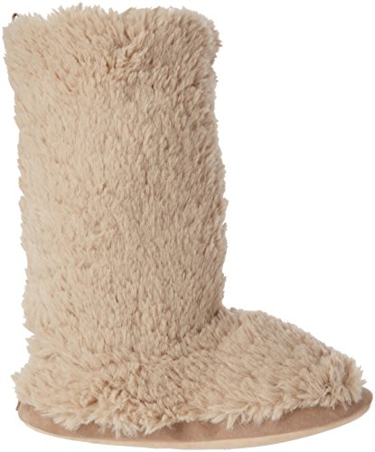 Ruby & Ed - Teddy Boot, Pantofole Donna Beige (Beige (Almond))
