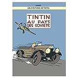 Poster Moulinsart Album de Tintin: Tintin au pays des soviets 22240 (70x50cm)...