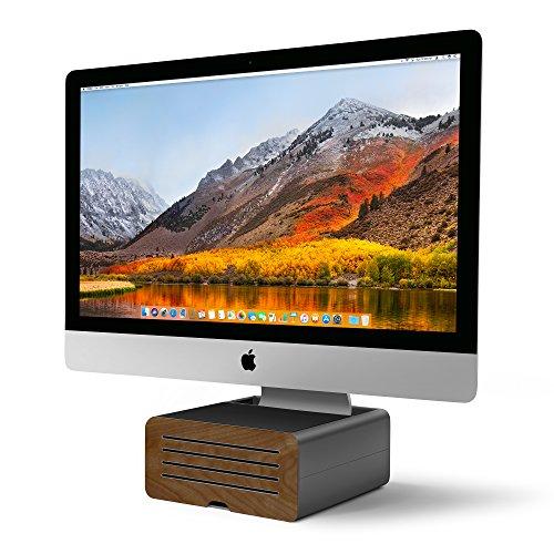 Twelve South 12-1719 HiRise Pro Standfuß für Apple iMac und Display Grau -