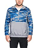 Jack Wolfskin Herren Coastal Wave Smock Men Windjacke, Alloy All Over, M