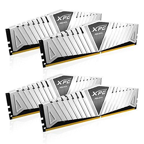 ADATA AX4U2400W4G16-QWZ Z1 DDR4 2400MHz (PC4-19200) CL16 16GB (4GBx4) Arbeitsspeicher weiß