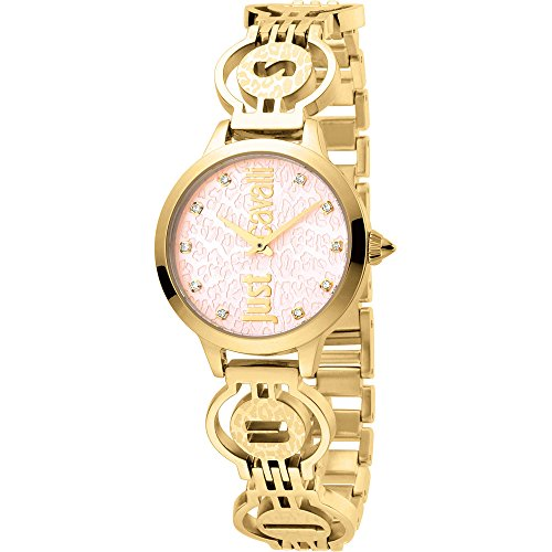 Only time clock Women Just Cavalli Logo Trendy Cod. jc1l028 m0025