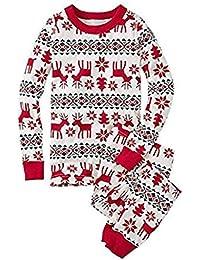 Ropa De Pijama De La Familia De Navidad Set Padre Madre Niños Recién nacido Romper Top Pantalones Deer Algodón Espesar Cálido Cute Monos Minzhi