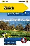 Zürich Wanderkarte Nr. 06: Massstab 1:60000, waterproof, Free Map on Smartphone included (Kümmerly+Frey Wanderkarten)