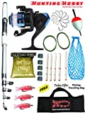 #1: Fishing Spinning Rod,Reel,Accessories Combo (Beginners kit)
