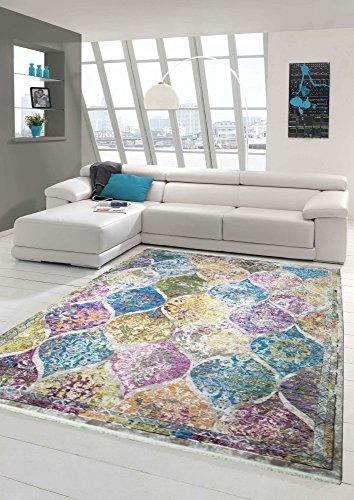 Designer und Moderner Teppich Vintage Marokkanisches Muster Multi Größe 160x230 cm -