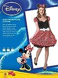 Rubie's Offizielles Damen-Kleid Disney Minnie Maus, Gr. L -