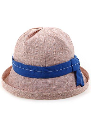 Chapeau de soleil d'été Été en plein air Mme Crème solaire chapeau de soleil Anti-UV Couvercle du bassin Pliable chapeau de soleil Pour les voyages de plage sortants ( Couleur : 1 ) 5