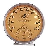 HAIA7K4K acciaio quadrante analogico termometro e rilevatore di umidità