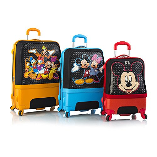 Heys Disney Clubhouse Hybrid Luggage Suitcase Set [3-Pieces]