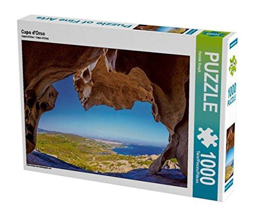 Preisvergleich Produktbild Capo d'Orso 1000 Teile Puzzle quer (CALVENDO Natur)