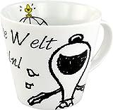 United Labels 119994 Peanuts - Tasse Say it with Snoopy - Verändere die Welt