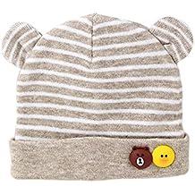 Scrox Linda Gorras para bebé bebé recién Nacido Sombreros de algodón Cálido  otoño Invierno recién Nacido 5dbc73450d8
