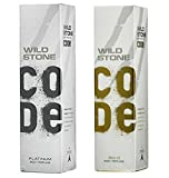 Wild Stone Mens Perfumed Body Spray Platinum And Gold Combo Pack 2 (120 ML)