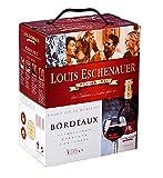 Dineart Louis Eschenauer Rotwein Bordeaux Frankreich Bag in Box Merlot Trocken (1 x 3 l)