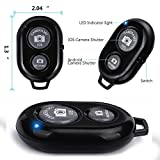 #4: Rextan Bluetooth Wireless Remote Shutter Photo Clicker Controler Compatible with iOS and Android Smartphones
