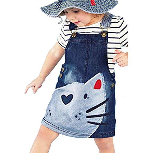 zeagoo-kid-girls-denim-animal-splice-strap-suspender-dress-for-2-9-years