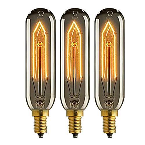 KJLARS Vintage Edison Glühbirne E14 40W 220V Reagenzglas Lampe tube Leuchtmittel Glühlampe