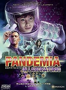 Asterion -Juego Pandemia:In Laboratorio (versión Italiana), código 8382