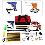 SHIOUCY Ausbeulwerkzeug, ohne Farbe, PDR Paintless Dellen Reparatur Auto Body Repair Panel Puller Tool Kit