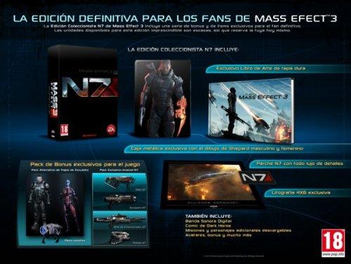 Mass Effect 3 -Edicion Coleccionista- [Spanisch Import]